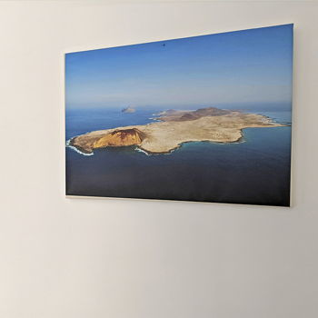 Impossible not to photograph La Graciosa if you go on holiday.