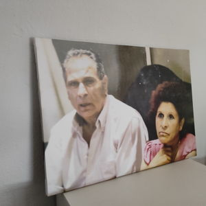 WE ARE VERY HAPPY, THIS IS THE THIRD CANVAS I HAVE ORDERED AND WE ARE VERY HAPPY AND WILL ORDER AGAIN.