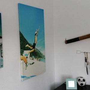 Perfect canvases. They completely change the space